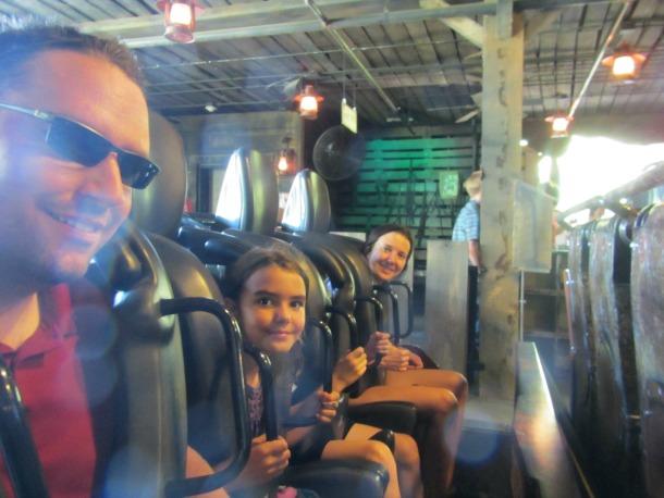 Mystery Mine Steel Roller Coaster
