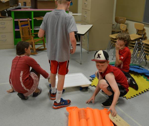 brainstorming collaboration kids