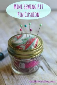 diy mini pin cushion sewing kit