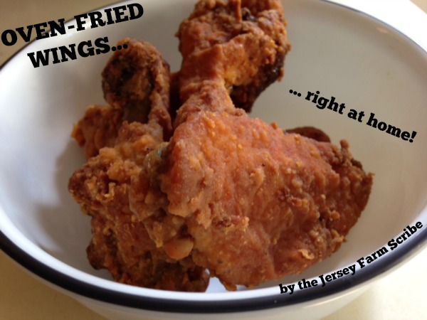 oven fried wings