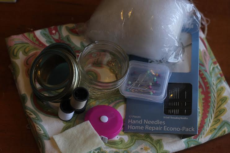 pin cushion sewing kit supplies