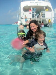 snorkeling in Grand Caymans