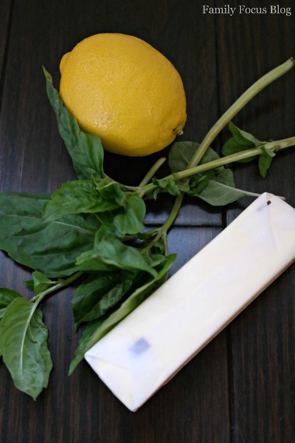 Lemon Basil Compound Butter Recipe