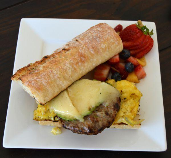 chicken sausage breakfast sandwich recipe | Family Focus Blog