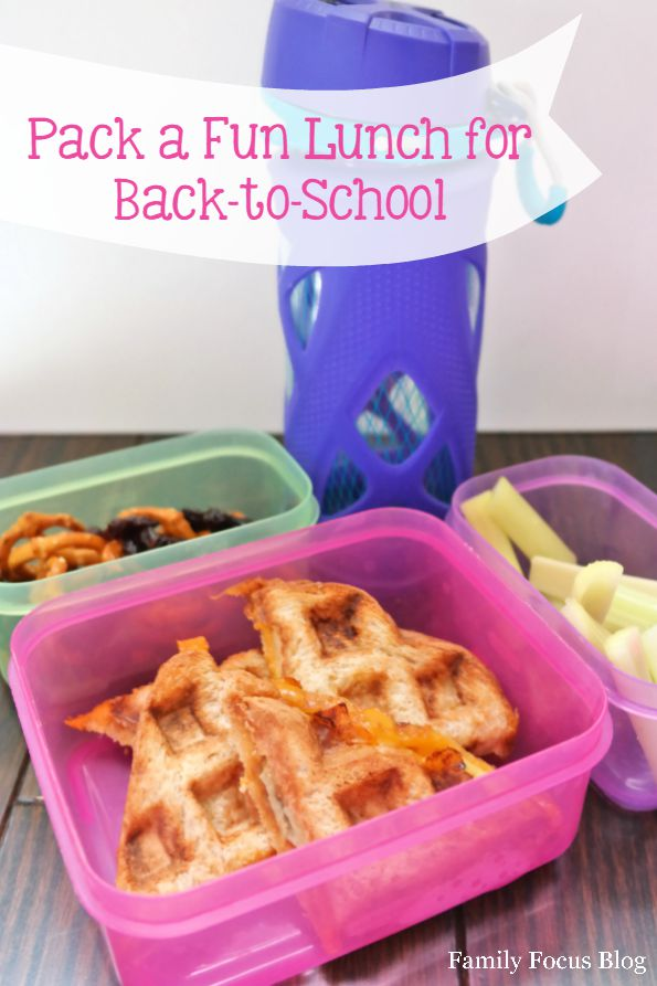 Pack a Fun Lunch for Back-to-School