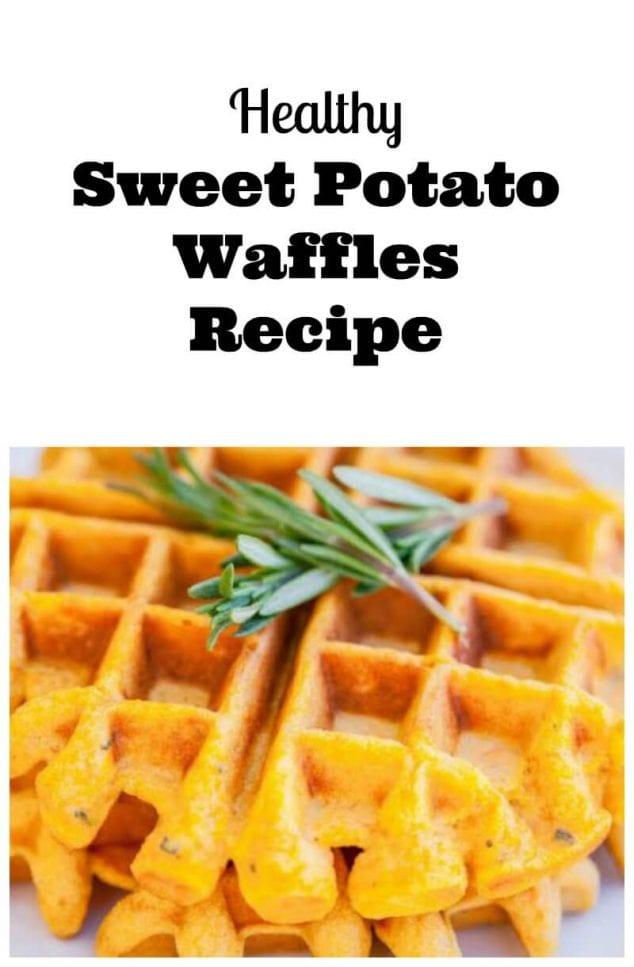 Healthy Sweet Potato Waffles Recipe