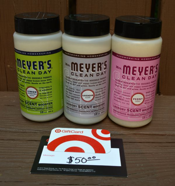 Mrs. Meyer's laundry scent boosters review