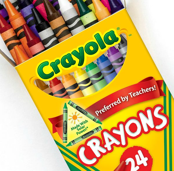 solar powered crayons