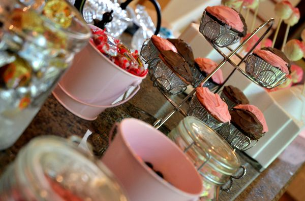 Cupcakes & Candy Buffet