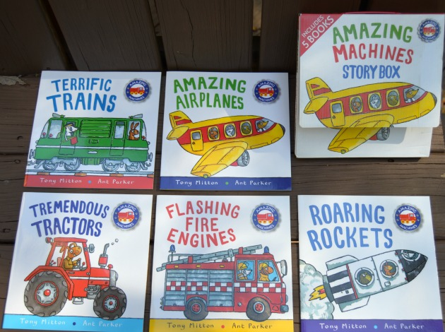 Amazing Machines Young Reader Books in Paperback