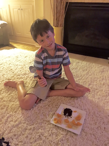 Dinner on the rug and other parenting no-no's