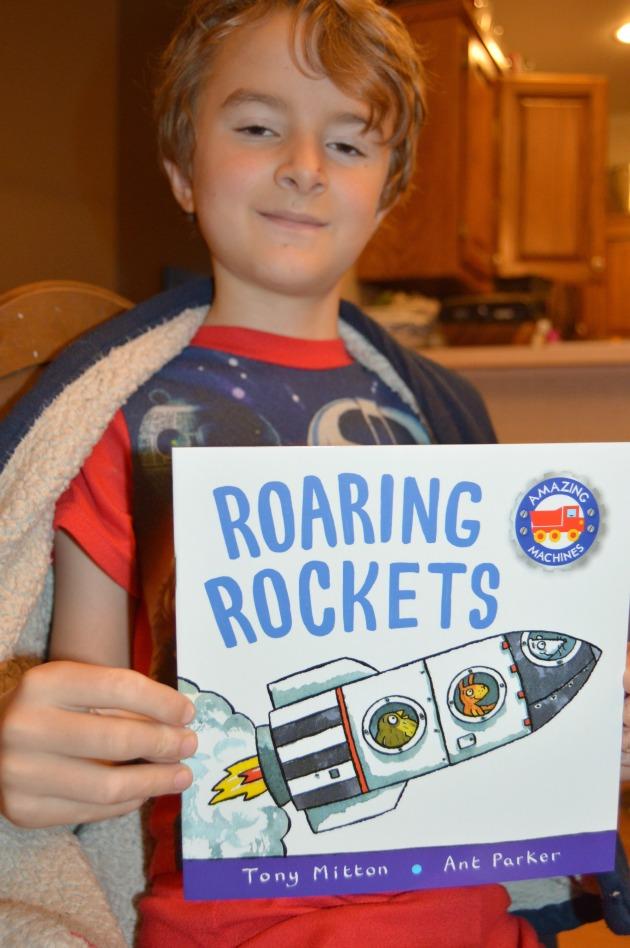 Roaring Rockets Book
