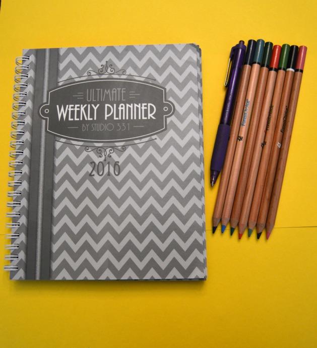ultimate weekly planner