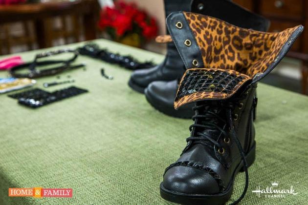 diy embellished boots