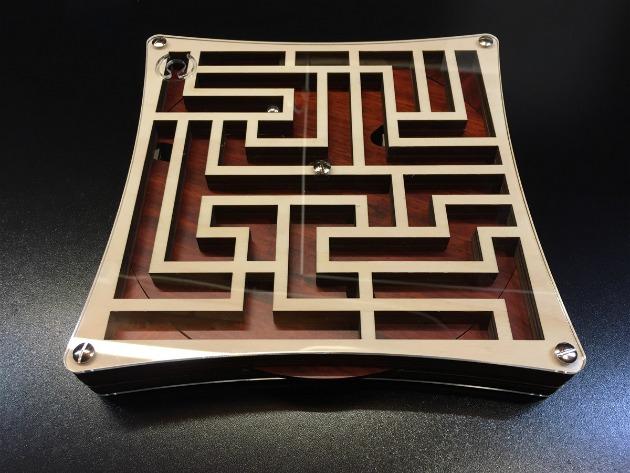 Daedalus Labyrinth brain teaser