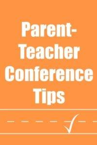 Parent-Teacher Conference Tips