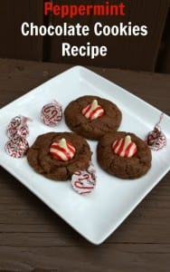 Peppermint Chocolate Cookies Recipe