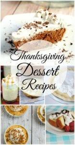 Thanksgiving Desserts Recipes