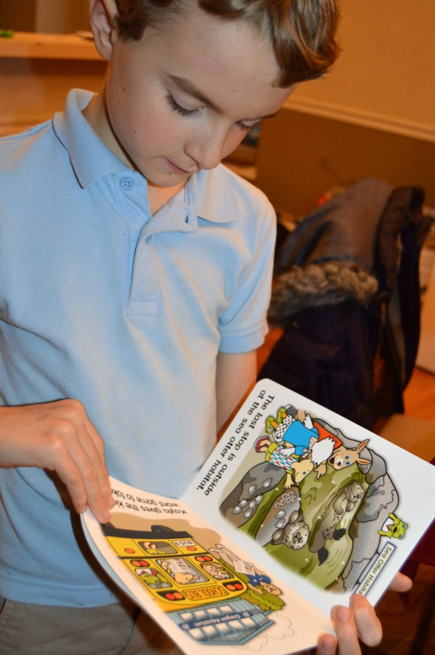 foster a love of reading Tessy & Tab