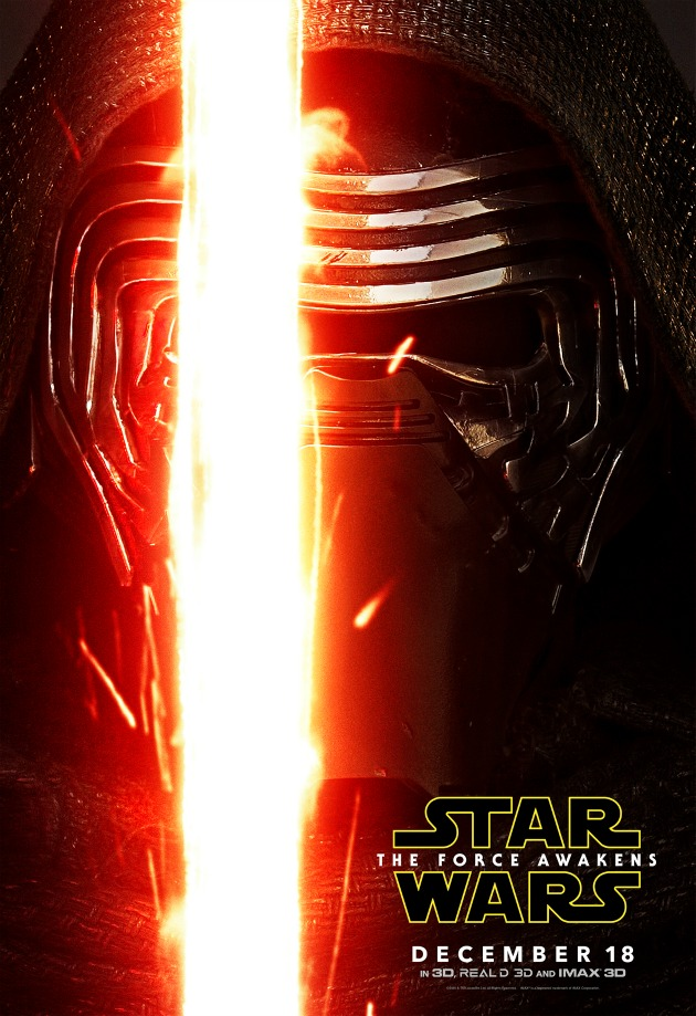 kylo ren poster star wars villain