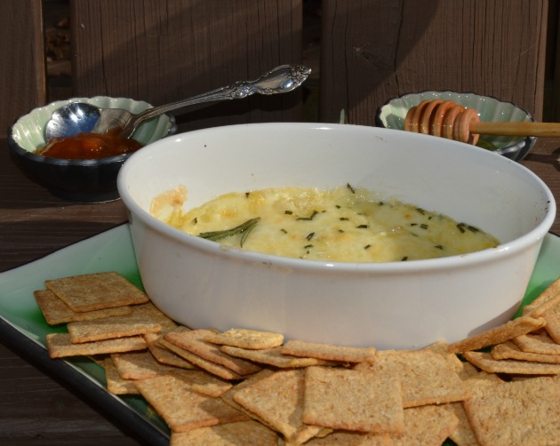 potluck baked brie dip