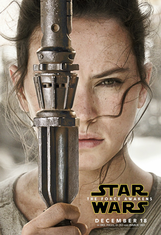starwars The Force Awakens Rey Poster