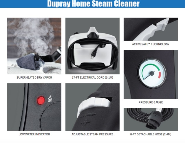 whole home steam cleaner