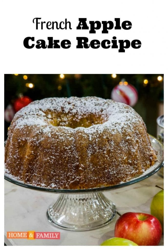 French Apple Cake Recipe