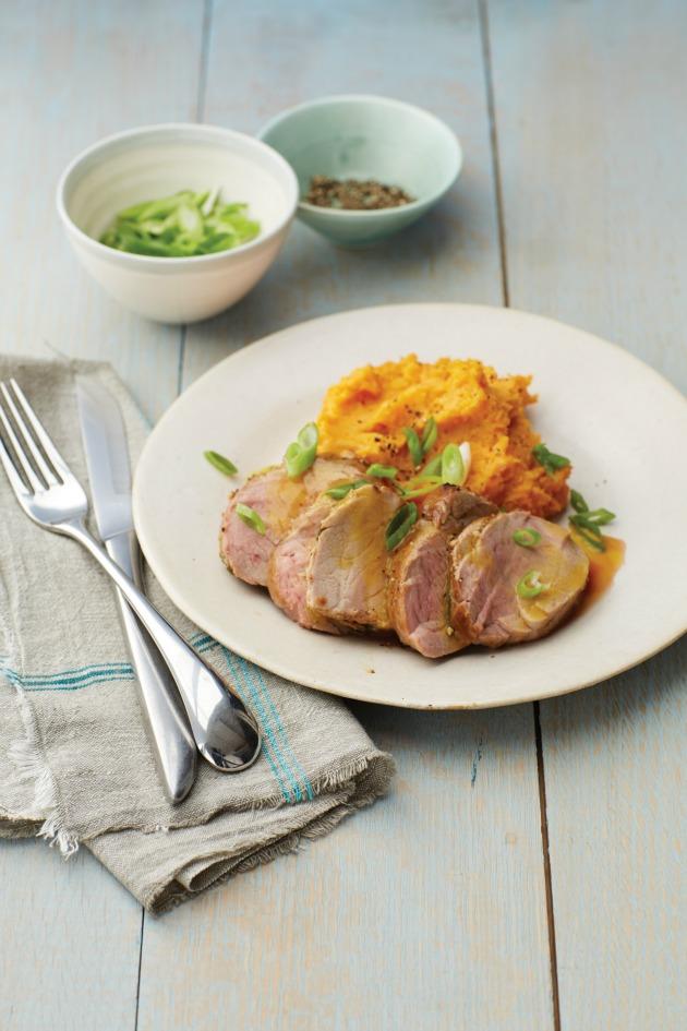 Easy Jamaican Pork Tenderloin Roast