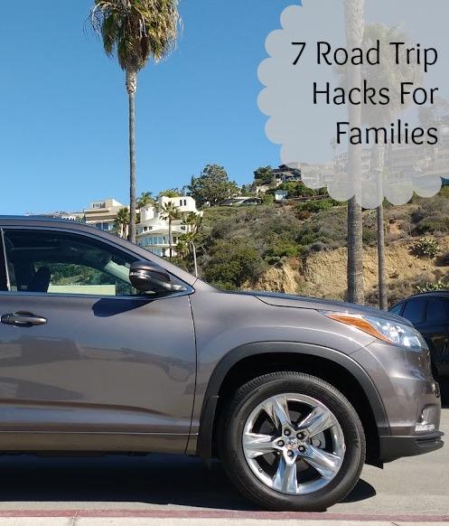 road trip hacks for families
