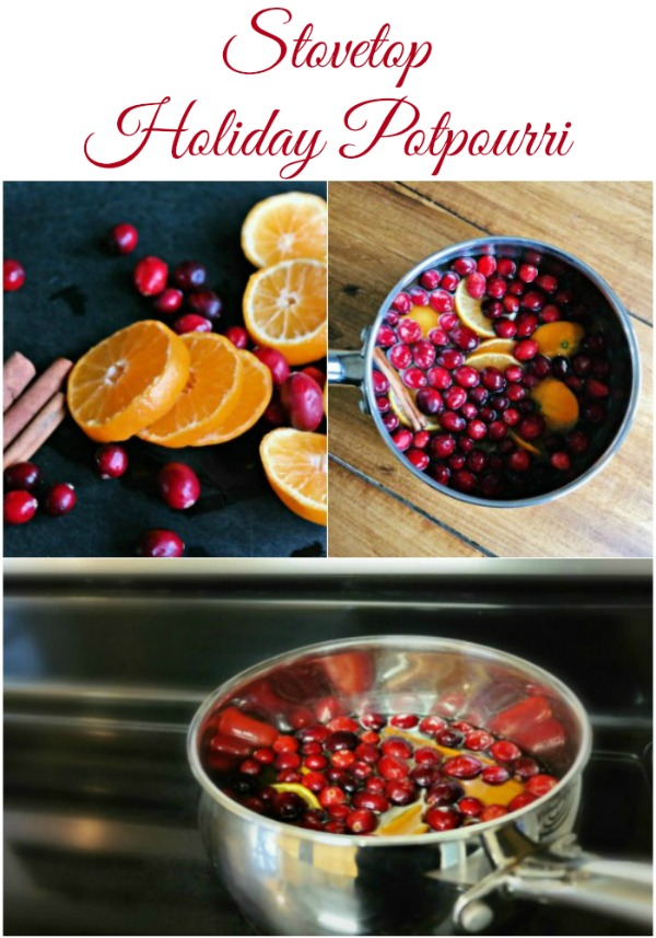 Stovetop Holiday Potpourri Recipe