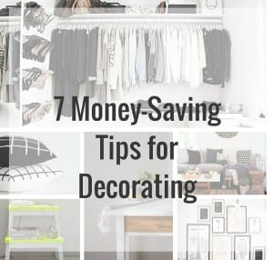 decorating, decorating tips, money-saving tips, home decor