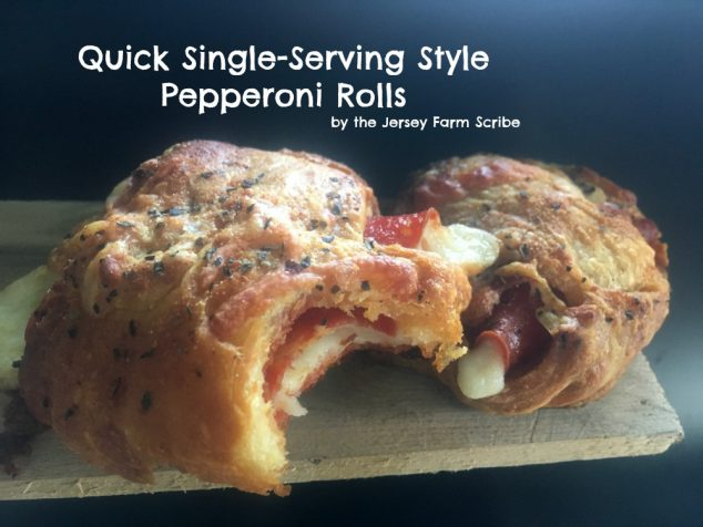 Pepperoni Roll Ups Recipe