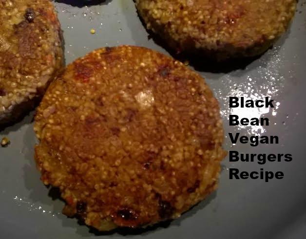 black bean vegan burgers recipe
