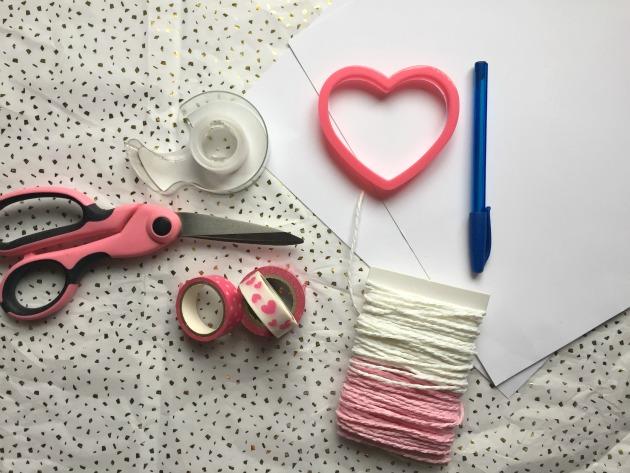 heart craft supplies