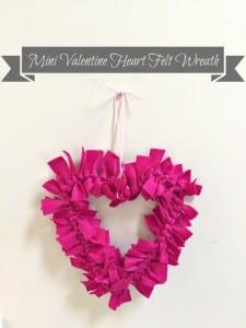 heart felt wreath pin