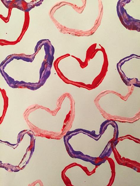 heart stamp tutorial