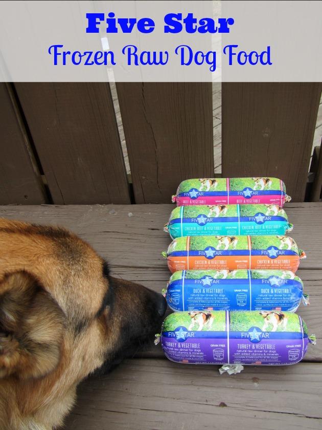 Frozen Raw Dog Food