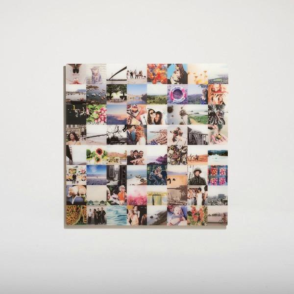 MASTERPIX Fine Glass Prints Instagram Collage