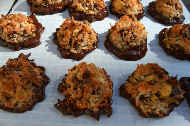 homemade coconut macarrons recipe