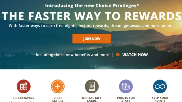 Choice Hotels Rewards Program