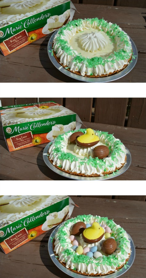easy easter dessert pie in 3 steps