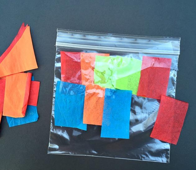 tissue paper craft