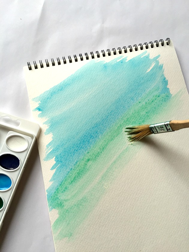 water color painting project