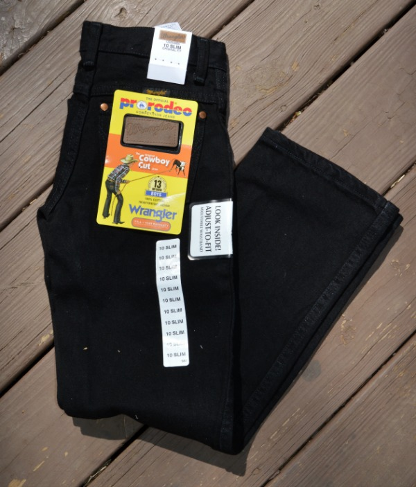 western jeans for kids
