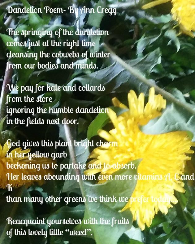 Dandelions Poem | dandelion poetry