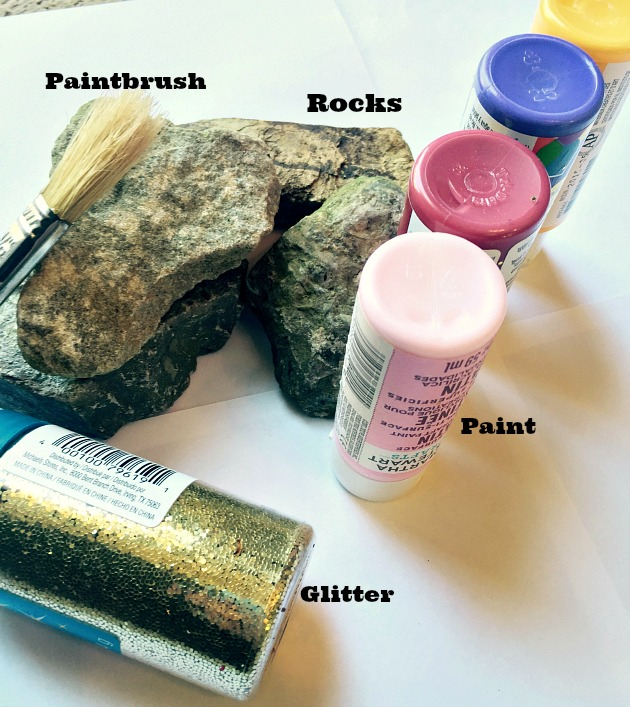 painted rocks craft supplies