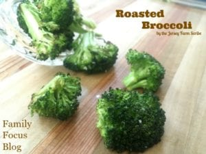oven roasted broccoli parmesan