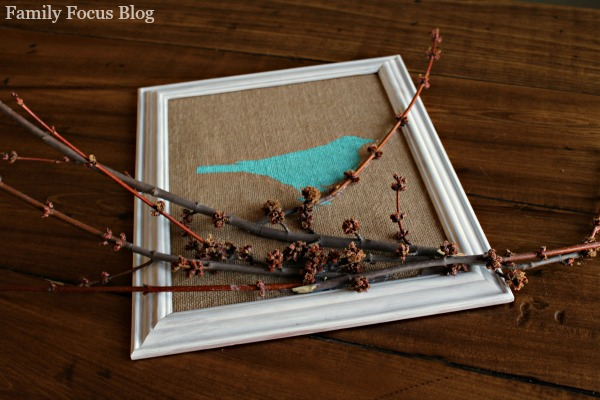 Spring Bird Decor Tutorial