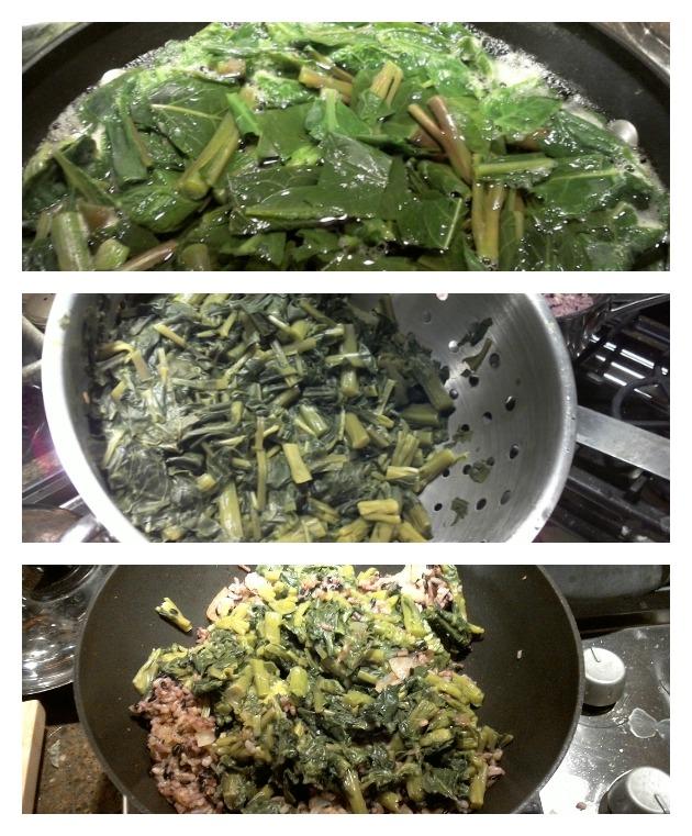 cook poke salad